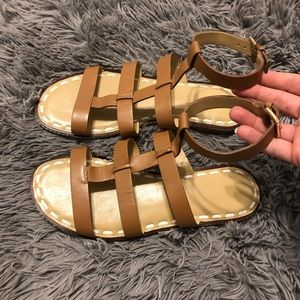 Michael Kors Gladiator Sandals 8.5